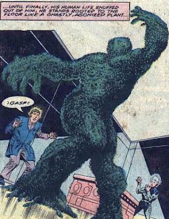 Atlas Comics, Morlock 2001 #1, topiary