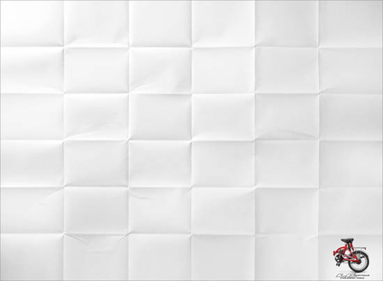 anúncios minimalistas e criativos na internet - Bicicleta