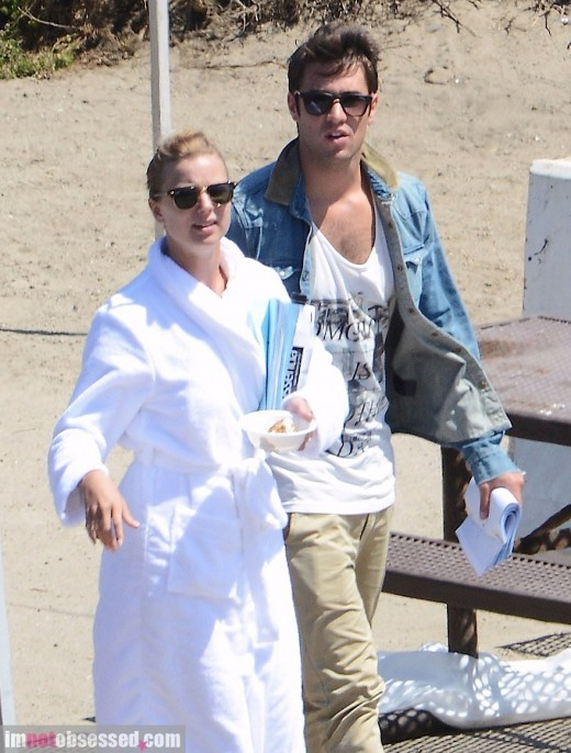 Emily VanCamp & Josh Bowman Get Ready For Their Close Ups » Gossip | Emily VanCamp | Josh Bowman