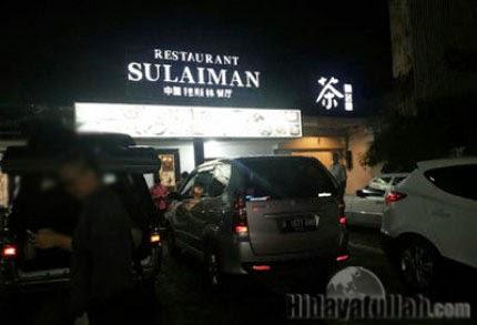 Sulaiman Resto, Kolaborasi Bisnis Dan Ibadah