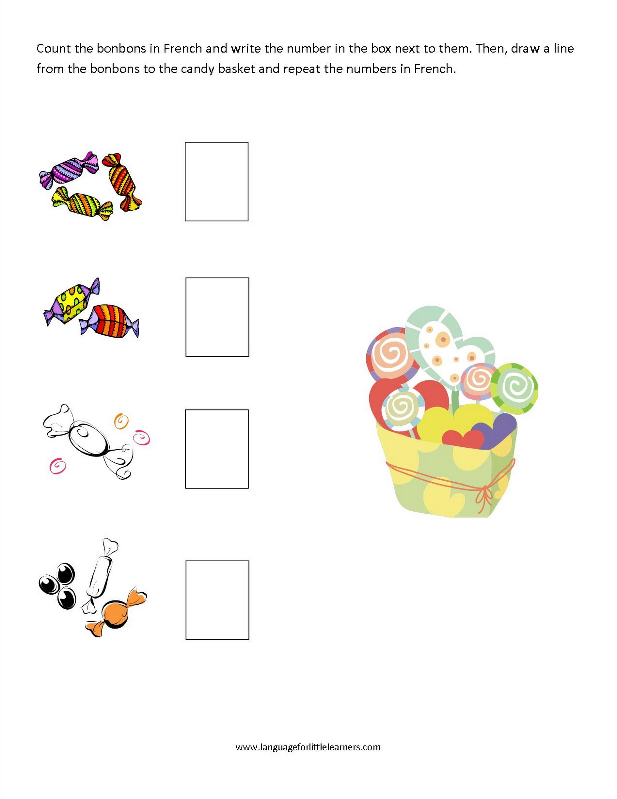 language for little learners worksheets