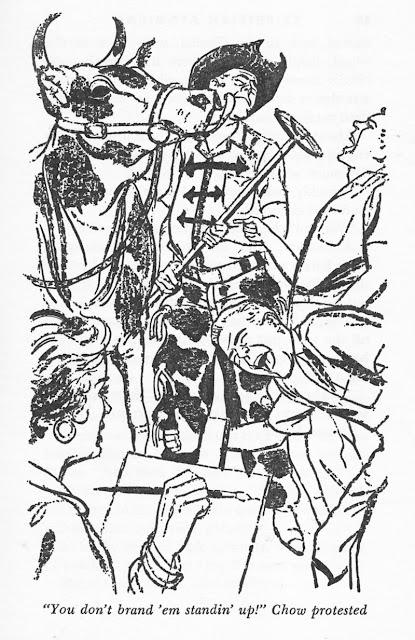 Illustration from Tom Swift book