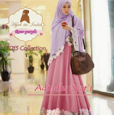 Model Gamis Lyra Virna Original