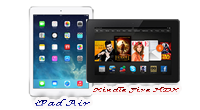 iPad Air - Kindle Fire HDX image