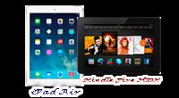 iPad Air - Kindle Fire HDX image