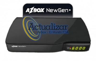 Actualizacion Azbox 27/04/2013