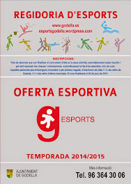 OFERTA ESPORTIVA GODELLA 2014-15