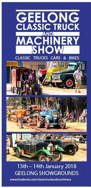 Geelong Classic Truck and Machinery Show