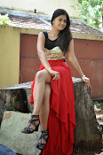 Meghasri glamorous photos in red-thumbnail-11
