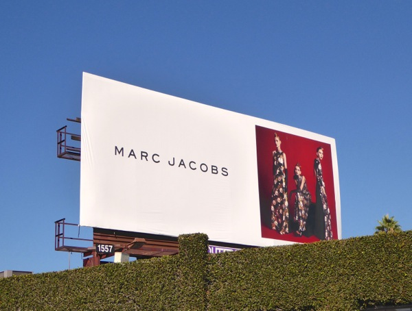 Marc Jacobs FW15 fashion billboard