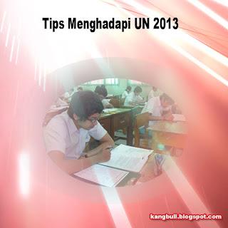 Persiapan UN 2013