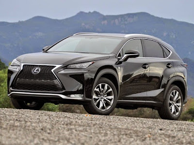 2015 Lexus NX Crossover Front View Model