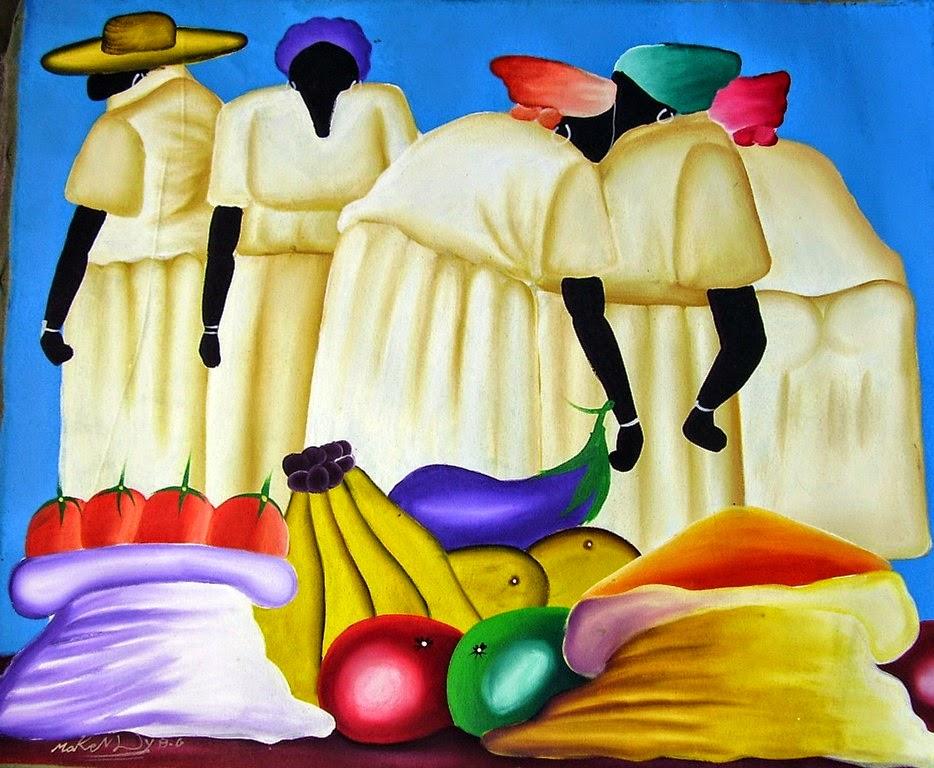 pinturas-africanas-modernas-con-negras