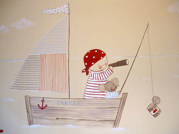 Murales infantiles pintados a mano murales infantiles de - Murales infantiles pintados a mano ...