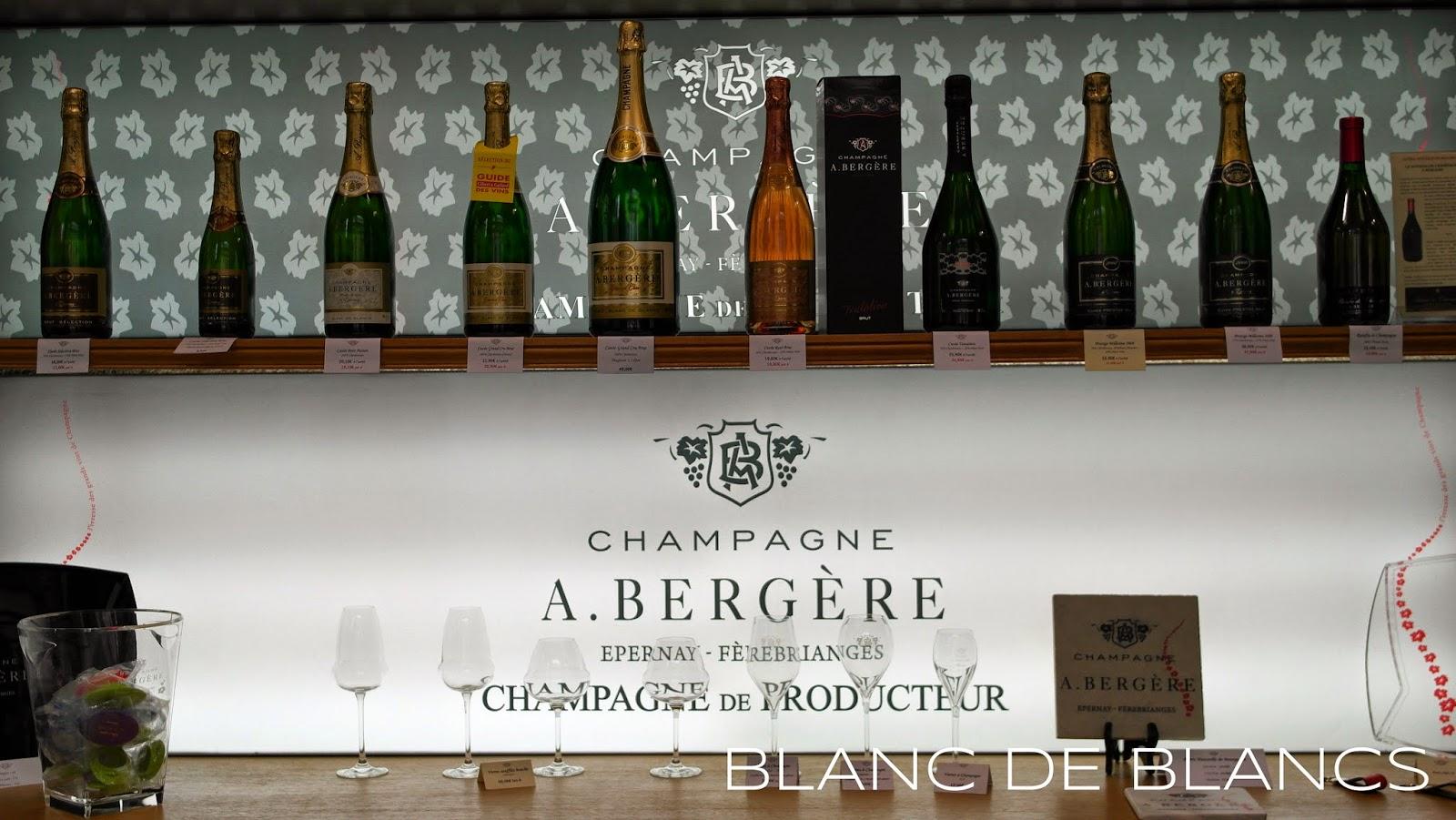 Champagne A. Bergère - www.blancdeblancs.fi