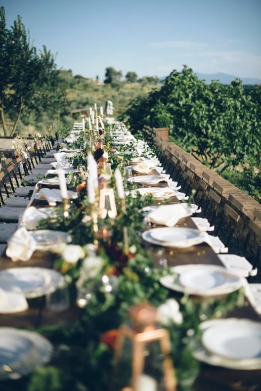Decorar una boda preciosa en la Toscana chicanddeco