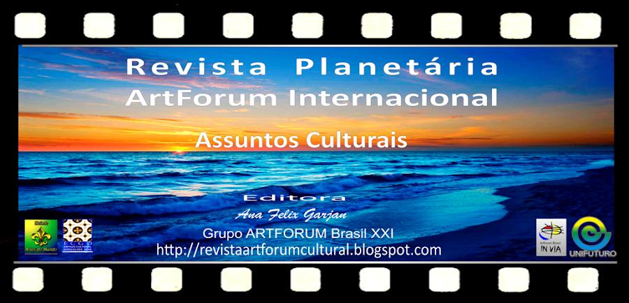 * Revista Planetária - ArtForum Internacional
