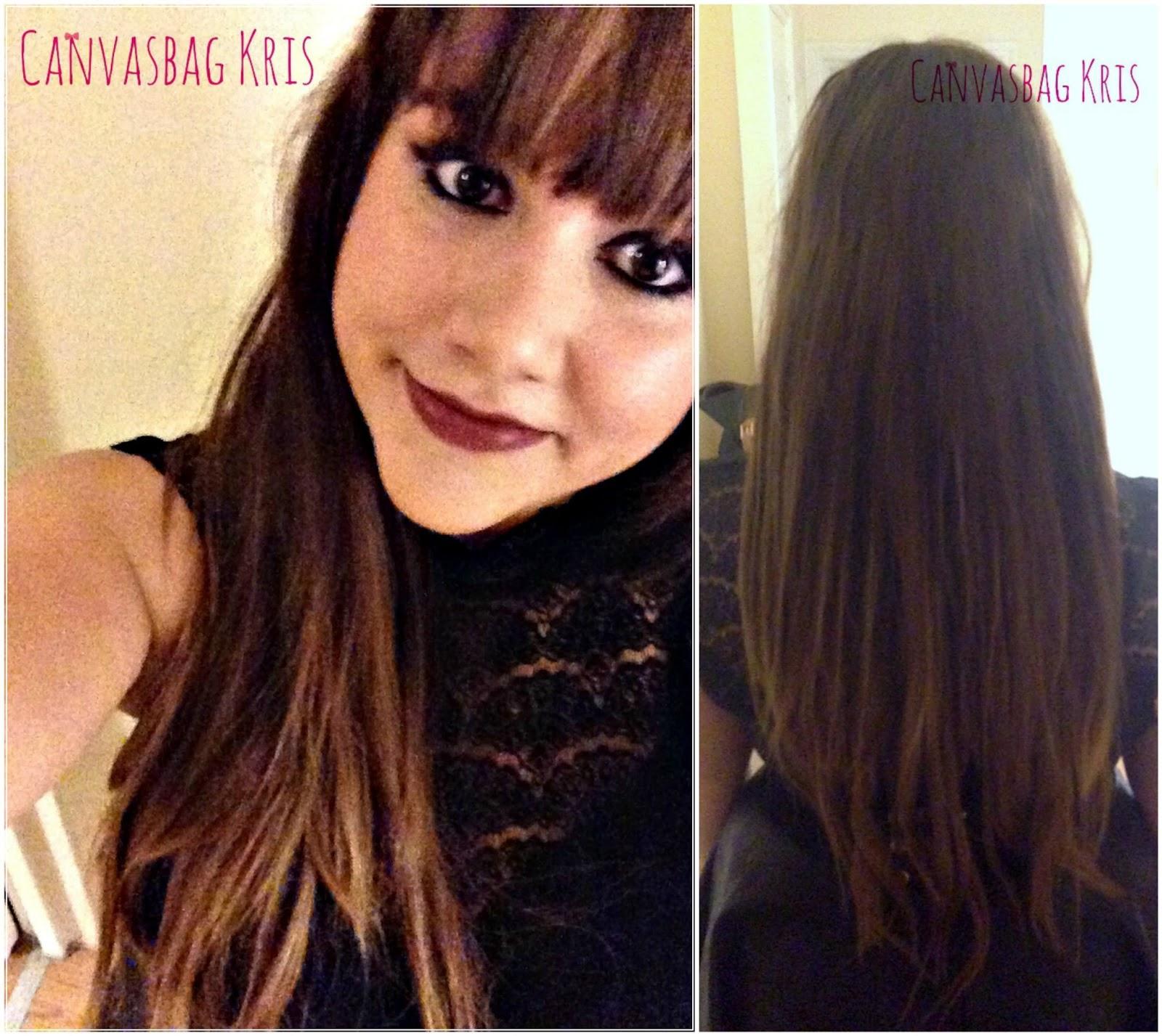 Canvasbag Kris Rapunzel Hair Irresistable Me Hair Extensions