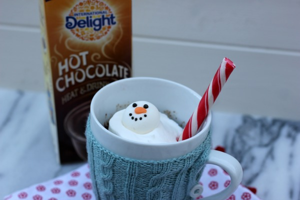 Hot Chocolate Mug Cake for One