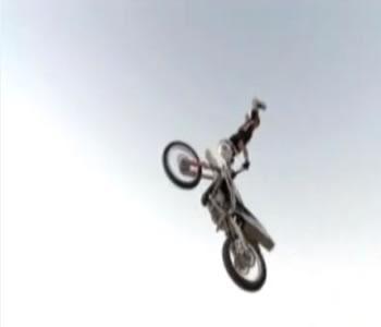 motocross no deserto