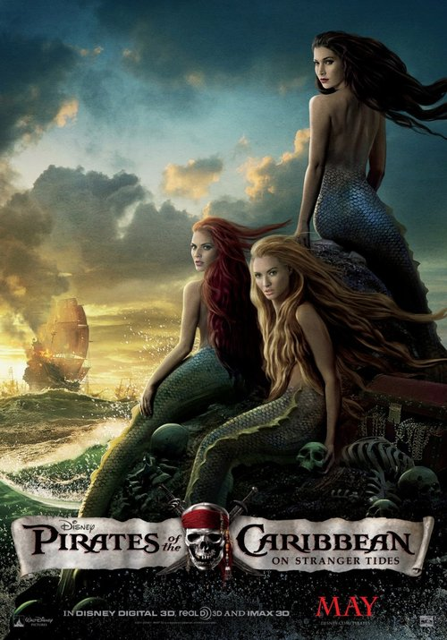 Pirates of the Caribbean - Seductive Mermaid, has a special meaning - unique and more memorable