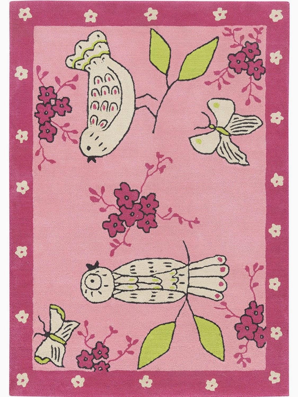 Alfombra infantil apple blossom rosa designers guild kids d 39 orte zaragoza cortinas - Alfombra infantil rosa ...