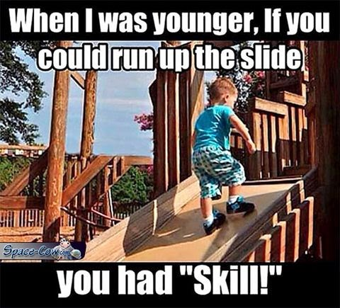 funny kid slide picture