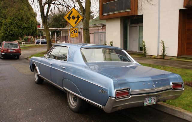 1967 Buick Skylark four-door hardtop.