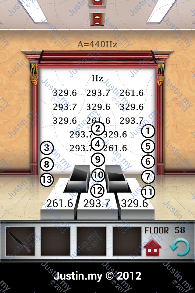 100 floor level 56 57 58 59 60 answer 100 floors answer for Floor 4 100 floors