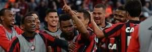 Veja os gols do jogo Atlético-PR 4 x 1 Vitória