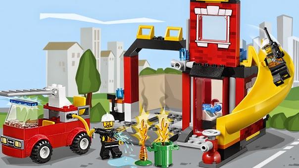 Lego Trạm Lính Cứu Hỏa