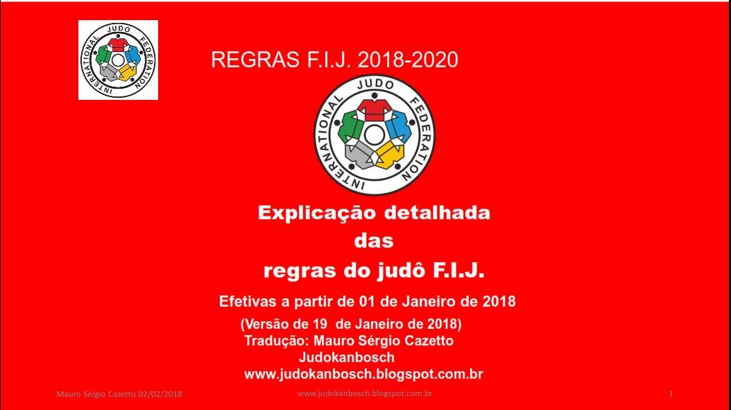 Regras novas 2018 a 2020