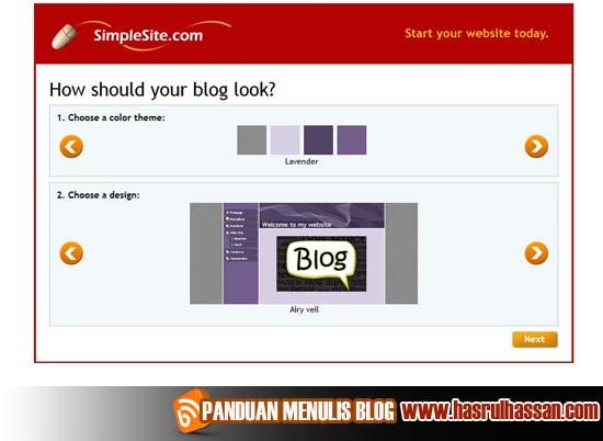 SimpleSite.com | Satu Lagi Platform Percuma Untuk Blog