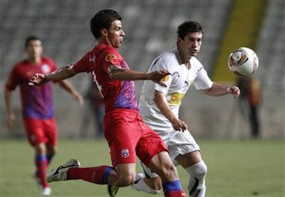 AEK Larnaca 1 - 1 Steaua Bucuresti (2)