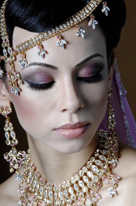 how to make a bridal makeup portfolio