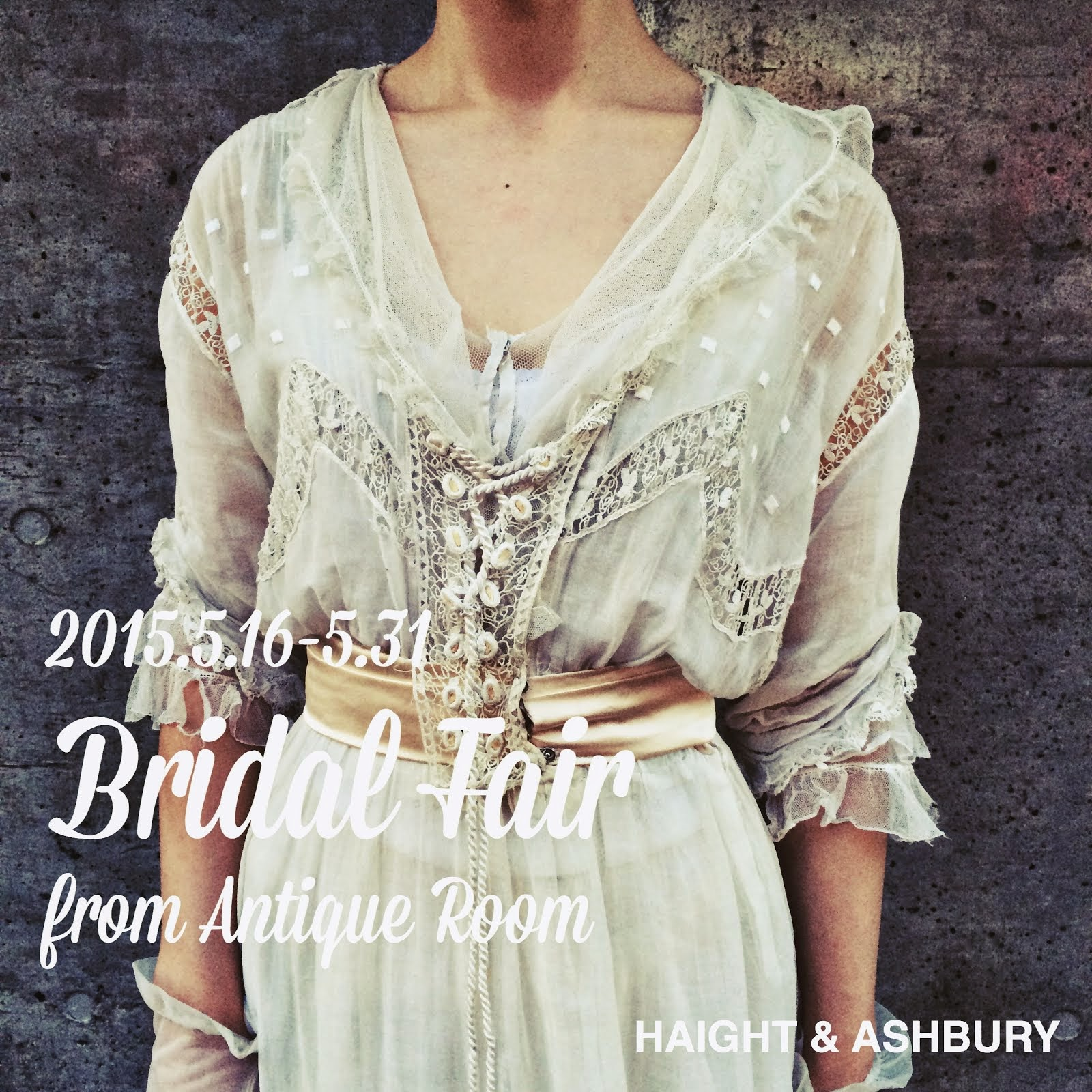 Bridal Fair 5/16~5/30 from Antique Room