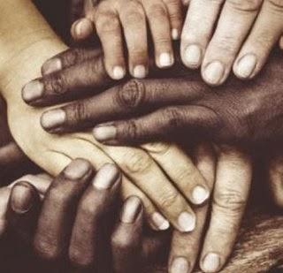 Mãos unidas- Liberdade