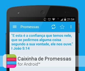 App Caixinha de Promessas para Android