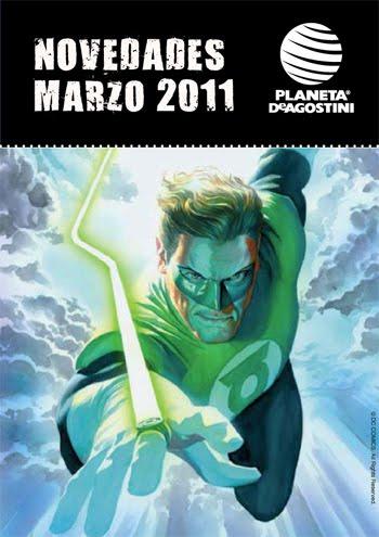 Green Lantern - novedades marzo