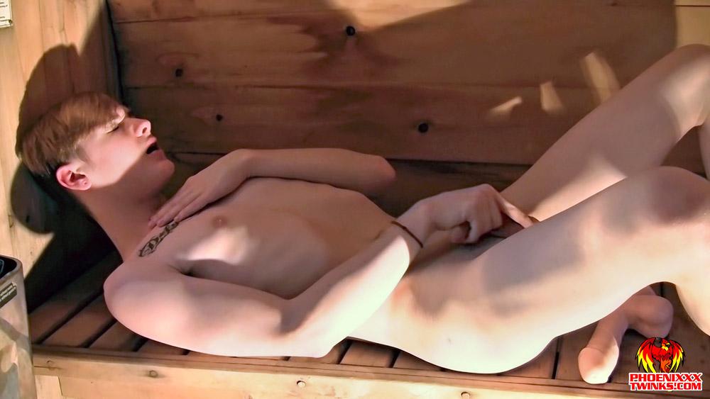 Skyler Solo In The Sauna Skyler Dallon