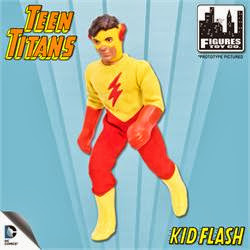 Figures Toy Company Retro/Mego Style Teen Titans - Kid Flash