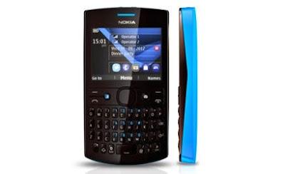 Nokia Asha 205 Dual GSM Cyan Dark Rose