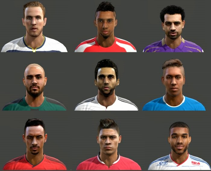 SANTARA PES: PES 2013 FacePack International Vol. 3 by Mayo