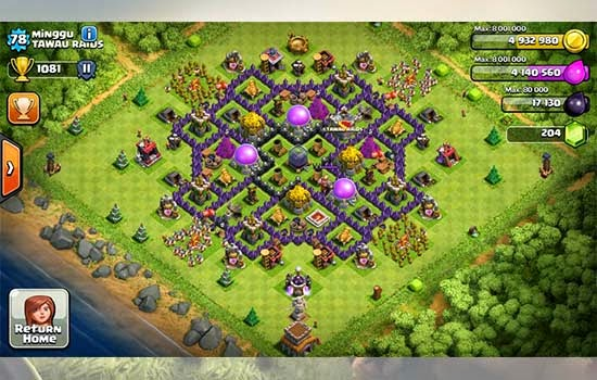 Town hall 8 farming option 1 gold and elixir archers and