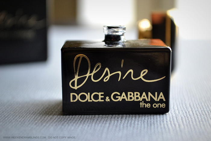 Weekend Ramblings Dolce And Gabbana Desire Eau De Parfum