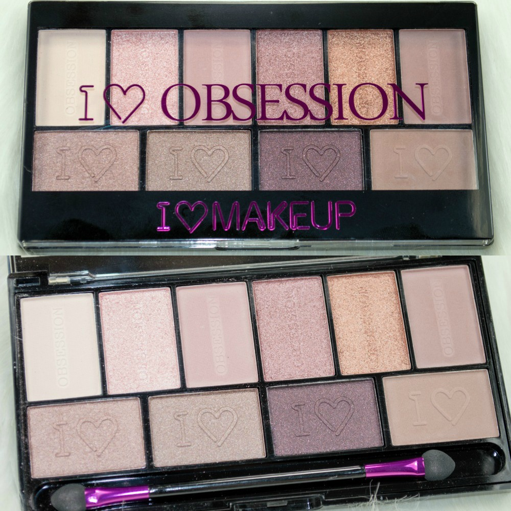 NEW Makeup Revolution I ♡ Makeup I ♡ Obsession Eyeshadow Palettes