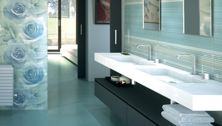 Baños Modernos Verdes:Cuando elijamos los azulejos para nuestro baño, debemos tener en