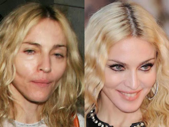 10 Celebrities Without Makeup Top 10s - Celebrity-without-makeup