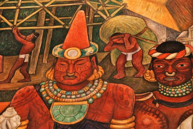 frescos de diego rivera por Hachero