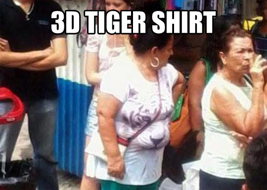 3D effect on a tshirt